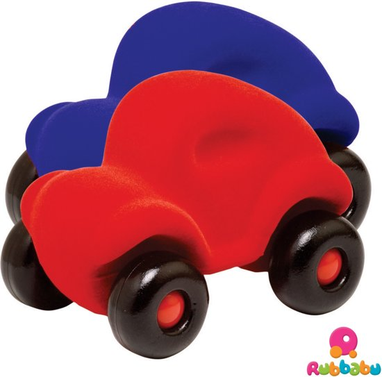 Rubbabu The Rubbabu Car (Red)