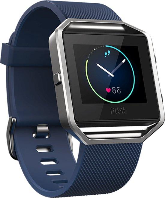 Fitbit Blaze  HR activiteitsmeter - blauw- small