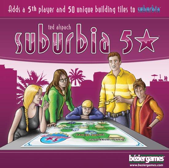 Afbeelding van het spel Suburbia 5 star - Uitbreiding - Engelstalig