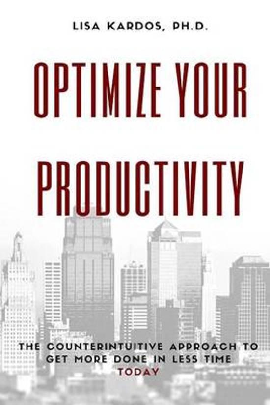 Optimize Your Productivity