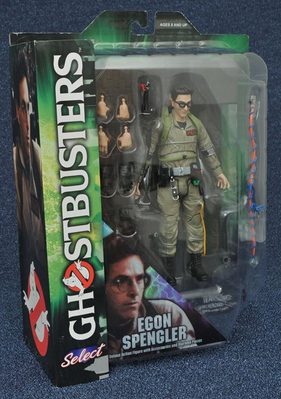 Ghostbusters: Select Egon Spengler Deluxe Action Figure kopen