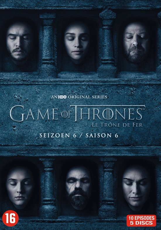 DVD cover van Game Of Thrones - Seizoen 6