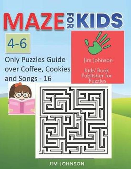 Maze for Kids 4-6 - Cool Mazes with You Wherever You Go