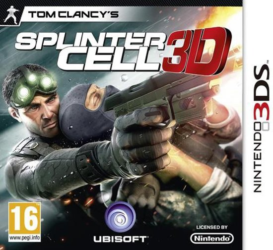 Tom Clancy's Splinter Cell 3D - 2DS + 3DS