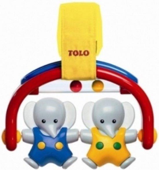 Tolo: little olifant rocker voor maxicosi of wandelwagen