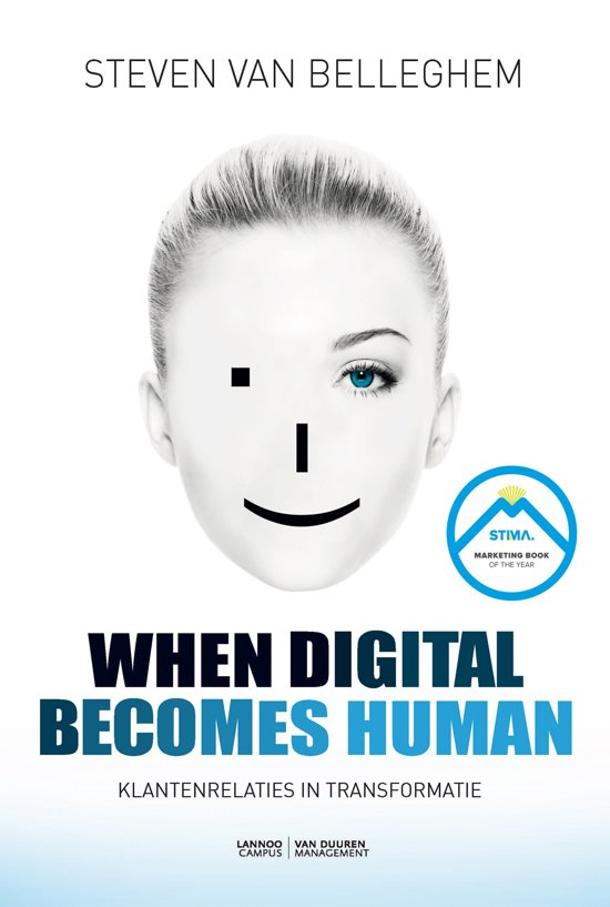 Boek cover When digital becomes human van Steven van Belleghem (Onbekend)