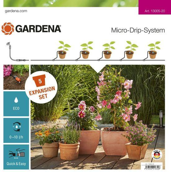 Gardena Micro Drip System uitbreidingsset terras / balkon 13005-20