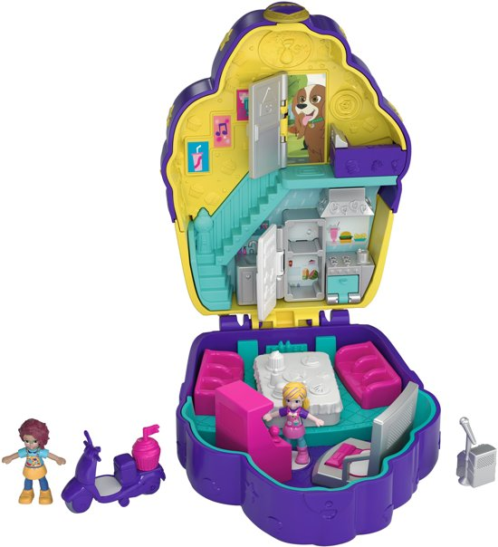 Polly Pocket Pocket World Sugar Rush Cafe - Speelfigurenset
