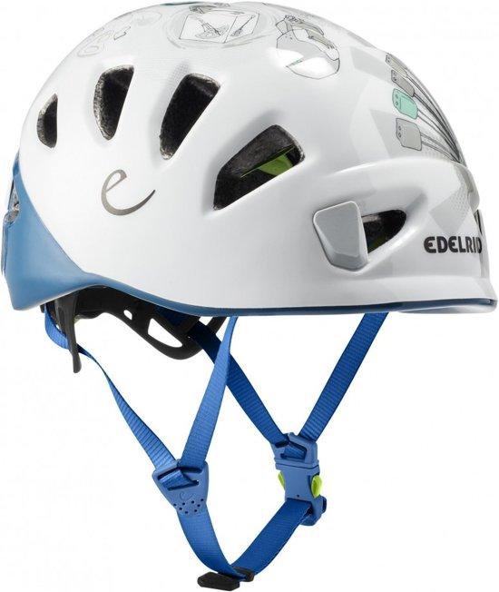 Edelrid Shield II de Klimhelm met Wing-Fit systeem Petrol S/M