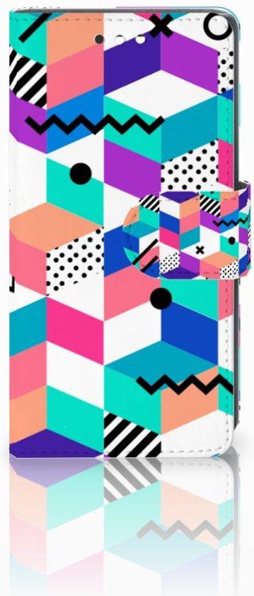Sony Xperia XZ1 Compact Boekhoesje Design Blocks Colorful