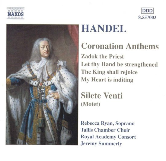Handel:Coronation Anthems.Sile