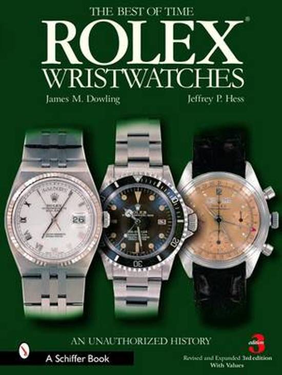 Boek cover Rolex Wristwatches van J. M. Dowling (Hardcover)