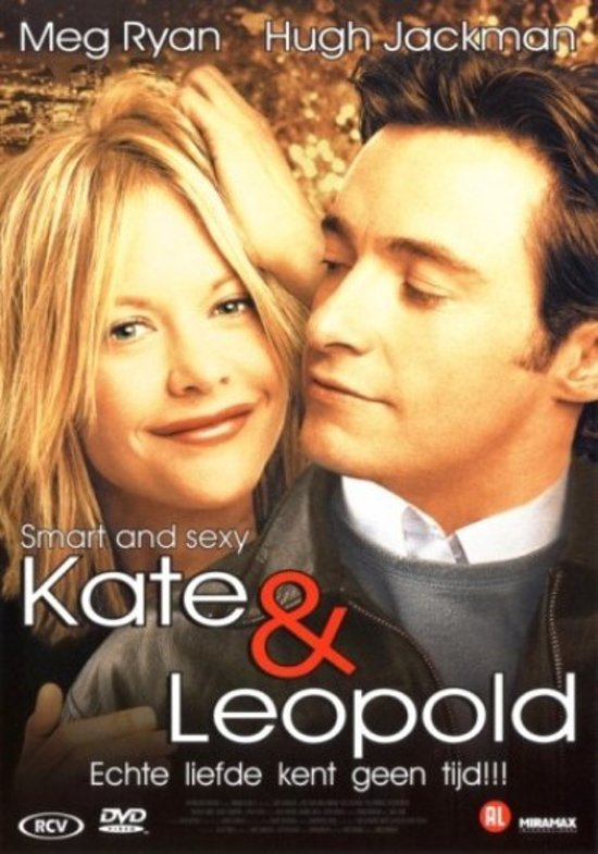 DVD cover van Kate & Leopold