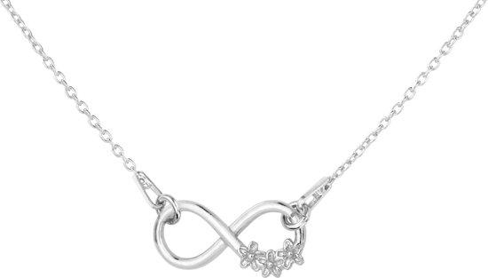 ARLIZI 1316 Ketting Infinity Symbool Hanger - Dames - 925 Zilver - 42 cm