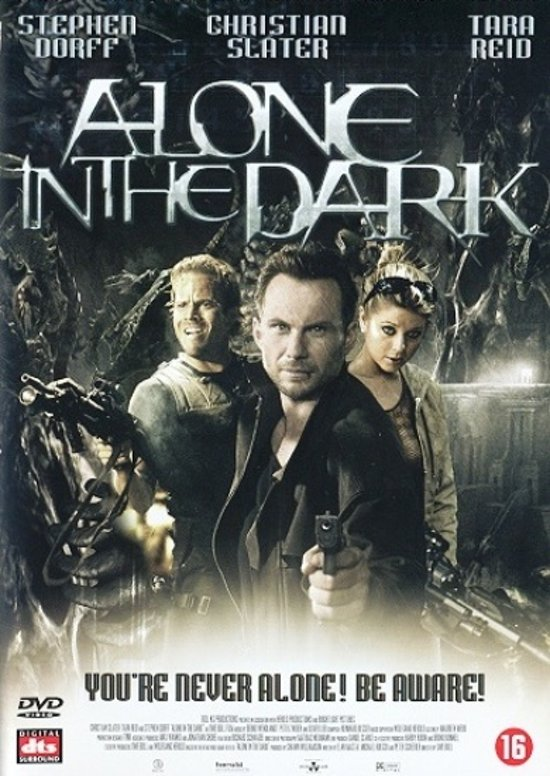 Cover van de film 'Alone In The Dark'