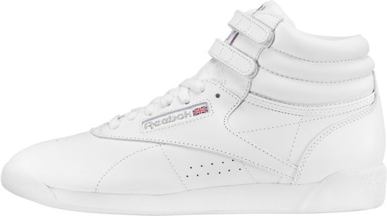 Reebok Freestyle Hi Dames Sneakers White
