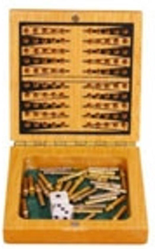Afbeelding van het spel Backgammon ideaal voor onderweg!