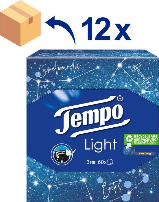 Bolcom Tempo Light Box 3 Laags Tissues 12 X 60 Stuks
