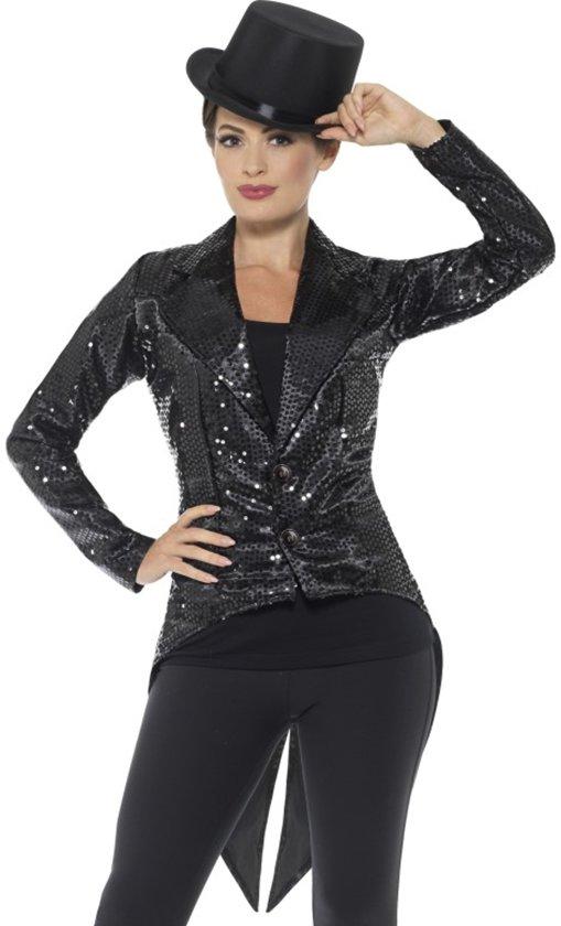 Sequin Tailcoat Jacket Ladies