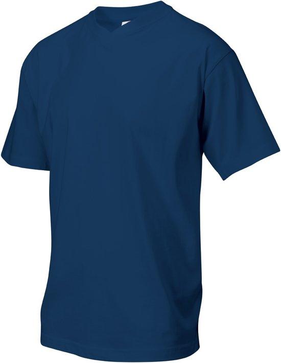 Tricorp T-shirt V-hals - Casual - 101007 - Navy - maat XL