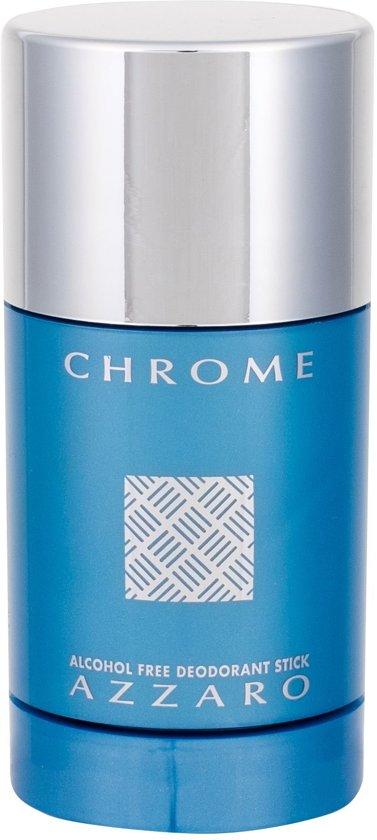 Azzaro Chrome Deodorant Stick Alcoholvrij 75 gr