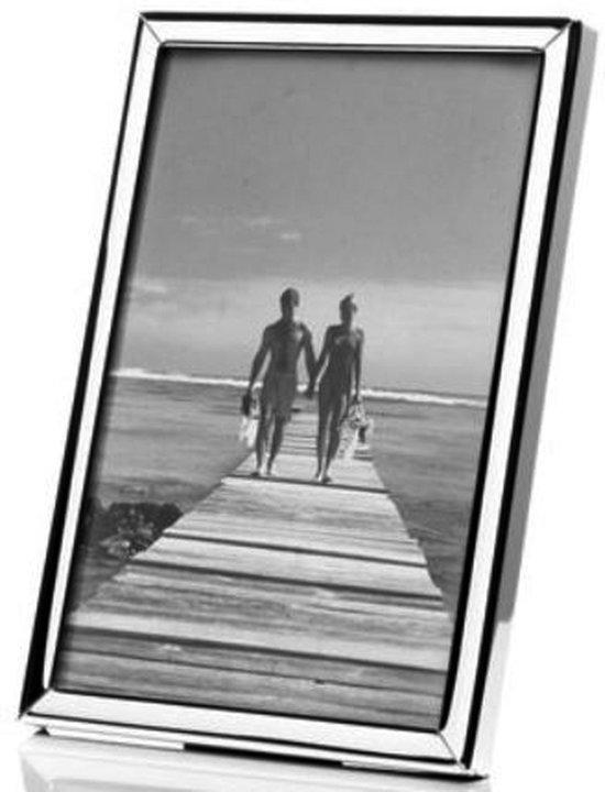 AL - Verzilverde Fotolijst voor foto formaat 5x8cm