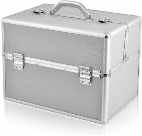 Hedendaags bol.com | Aluminium koffer Zilver, Nagelstyliste koffer, Nagel ST-93