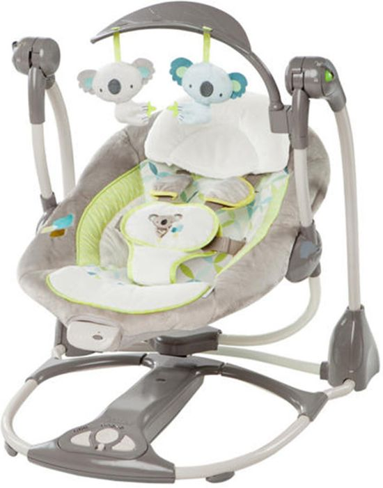 Schommelstoel Baby Automatisch.Bol Com Bright Starts Ingenuity Convert Me Swing 2 Seat Brighton