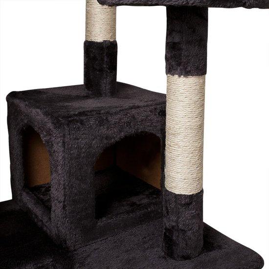 Kattenpaal krabpaal grijs-bruin 175cm