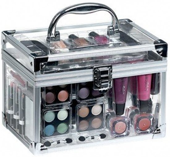 transparante make up kist