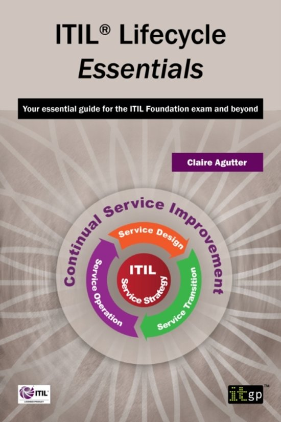 Bol Itil Lifecycle Essentials Claire Agutter 9781849284172