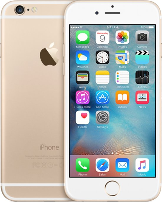 Apple iPhone 6 refurbished door Renewd - 16GB - Goud