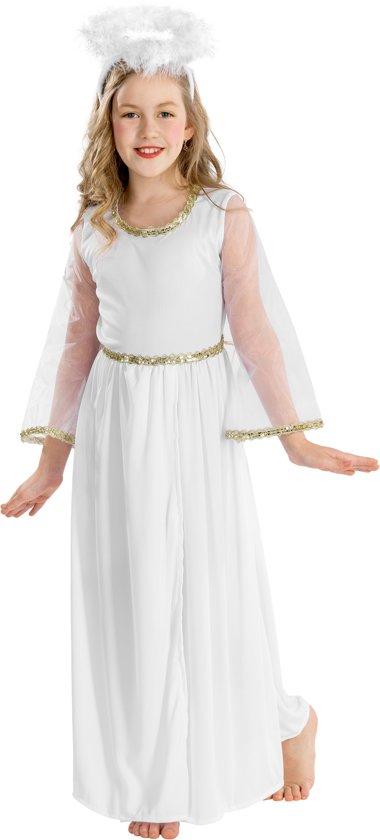 ccd5b08e419fa1 dressforfun 300225 Meisjeskostuum Betoverende Engel voor kinderen 12-14  jaar verkleedkleding kostuum halloween verkleden feestkleding