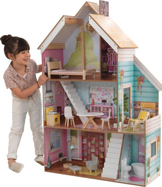 Afbeelding van KidKraft Juliette houten Poppenhuis - Dollhouse speelgoed
