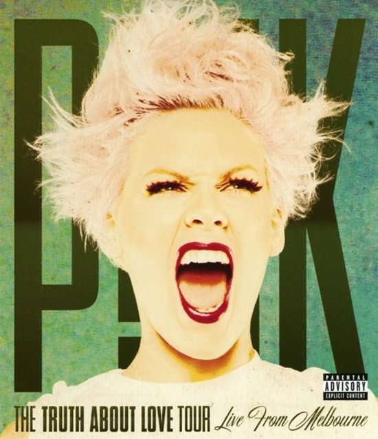 CD cover van The Truth About Love Tour (Live From Melbourne) (Blu-ray) van Pink