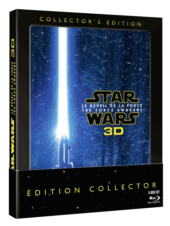 Star Wars Episode 7 : The Force Awakens  (3D Blu-ray)