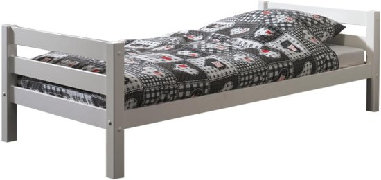 Emob Anne - Bed - Wit - 98 x 209 cm