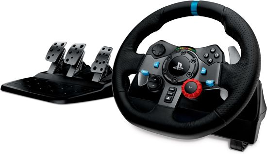 Logitech G29 Driving Force Racestuur - PS4 + PS3 + PC