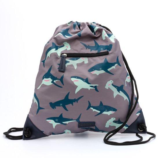 Zebra Trends luxe Zwemtas wild shark