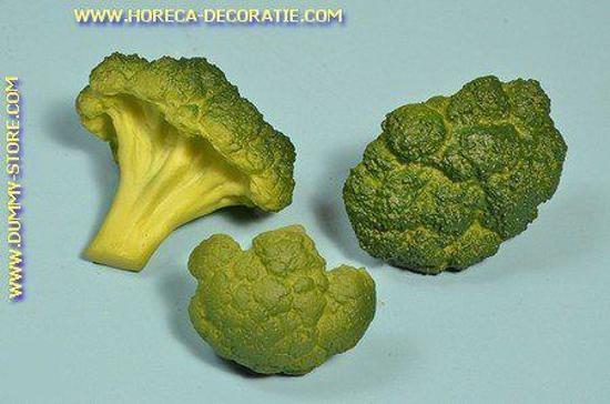 Broccoli, 3 stonkjes (namaak)