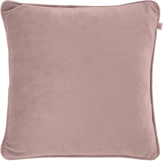 Dutch Decor Kussenhoes KH Velvet 45x45 cm oud mauve