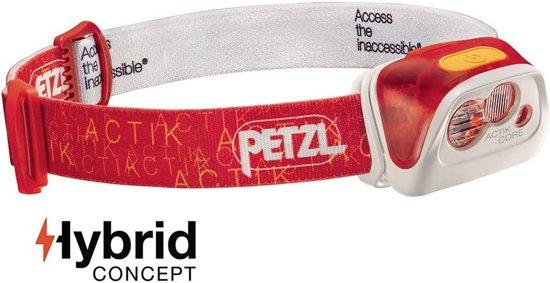 Petzl Actik Core Hoofdlamp, red