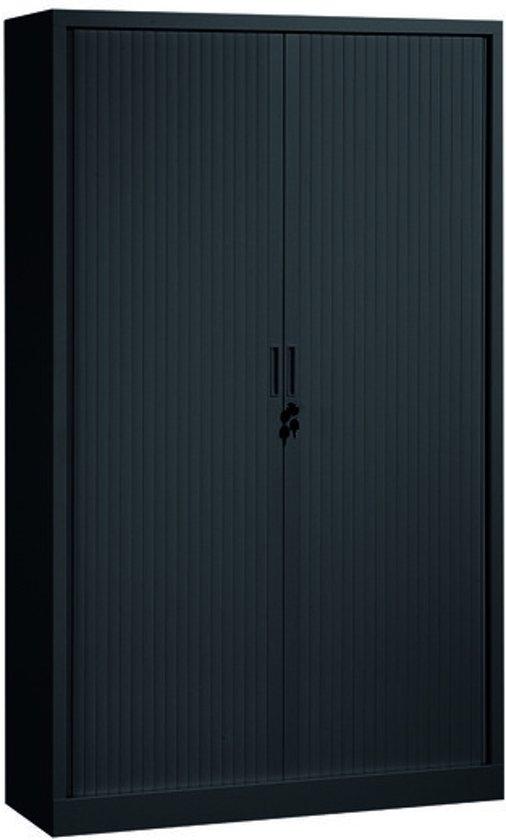 Bolcom Roldeurkast 198x120x43cm Zwart