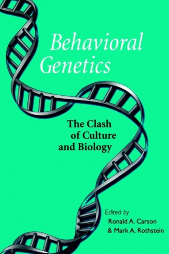 an introduction to the analysis of human behavior genetics Genetics and human behaviour: the ethical context by the nuffield council on bioethics (2002) is the outcome of an extensive review of quantitative genetic studies conducted by a working party of 13 scholars in the united kingdom that was based on their own reading of the scientific literature as well as interviews and consultations with 40 experts in behavior genetics.