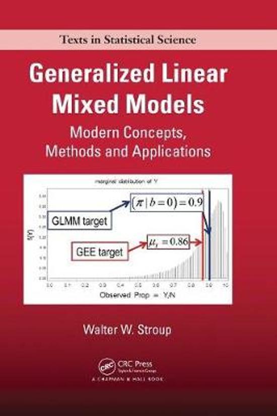bol com   Generalized Linear Mixed Models   9781439815120