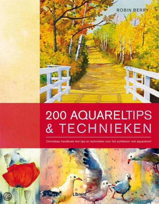 200 aquareltips & technieken