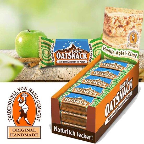 Davina - Energy OatSnack - 15  repen - 65 gr pst - Vanille Appel Kaneel