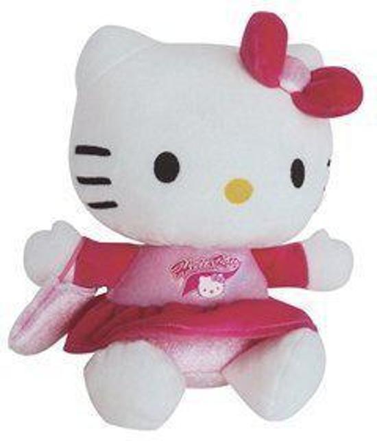 knuffel - Hello Kitty pompom 15 cm