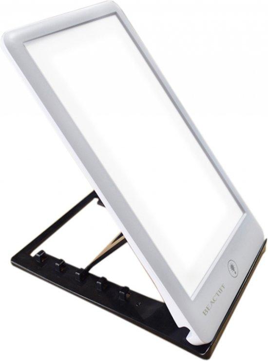 Daglichtlamp/lichttherapie-lamp/energielamp/ winterdepressie Energylight-Energyup Sunlight SAD Light, zonlicht Lamp 6.000 tot 32.000 lux instelbaar LED, wit , merk BEACTIFF