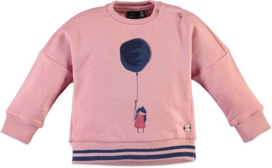 Babyface Meisjes Sweatshirt - Roze - Maat 110